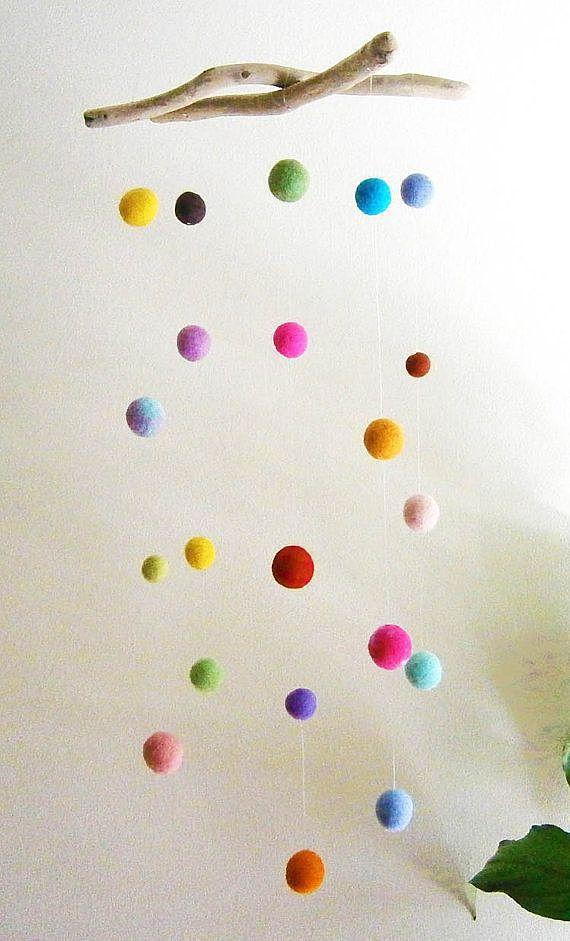 Войлочные шарики