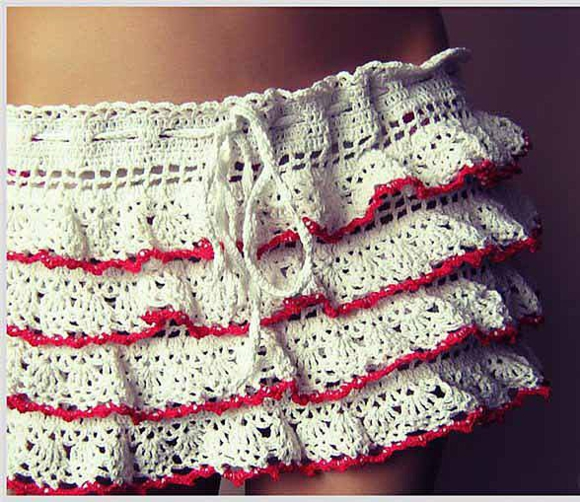 Ажурная юбка
