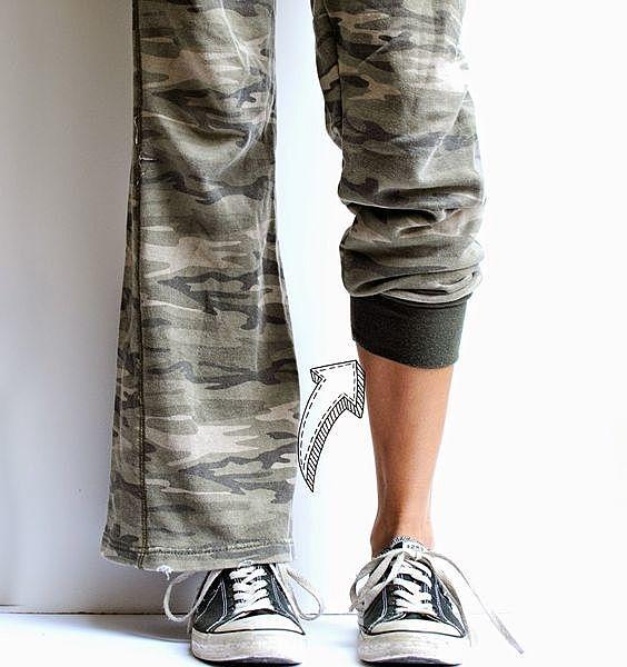 Манжеты к брюкам