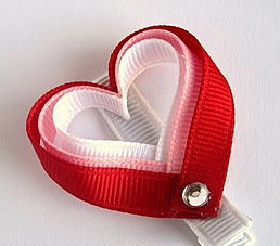 Сердечко из лент