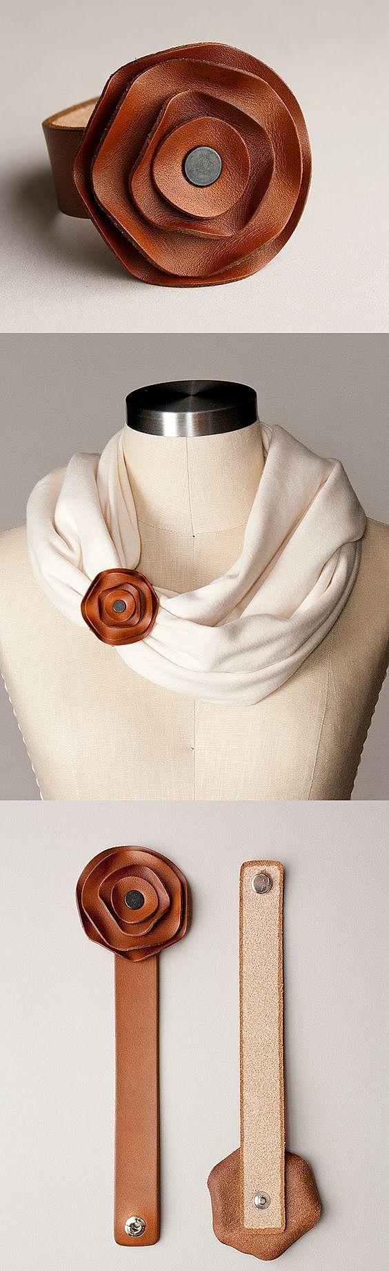 Браслет для шарфа