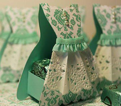 Коробка-платьице