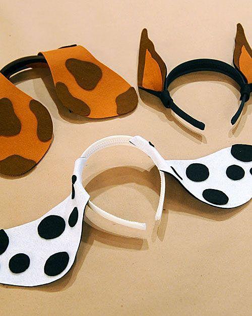 Уши собаки из бумаги