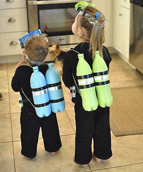 Костюмы на морскую тему для детей своими руками