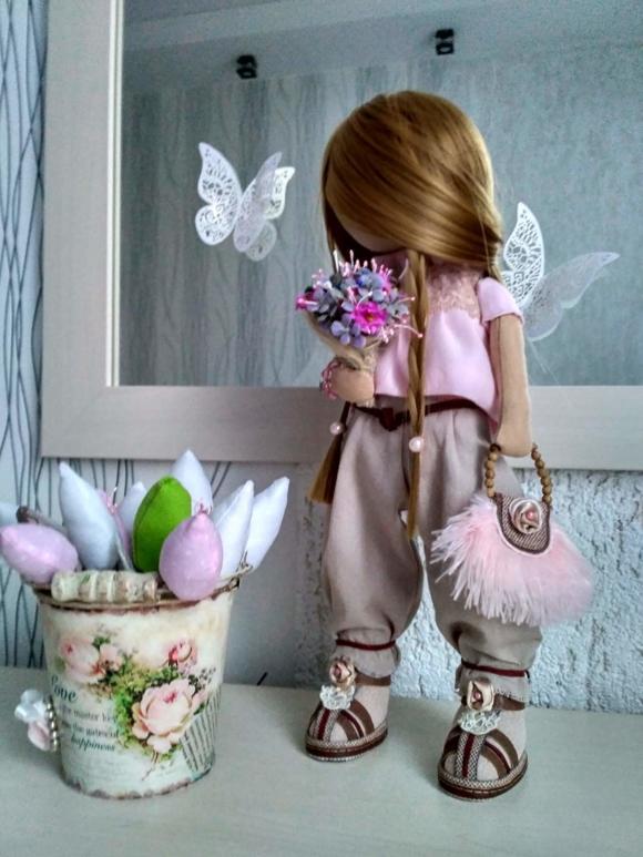 Текстильная куколка Это любовь!
