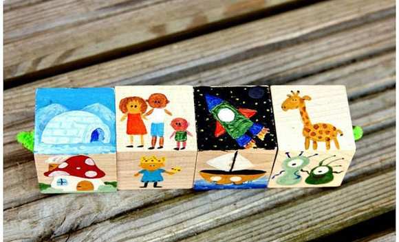 Кубики с историями