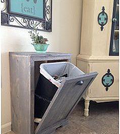Тумбочка для мусорного ведра