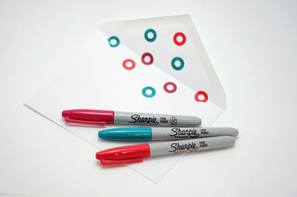 Внутренний дизайн конверта