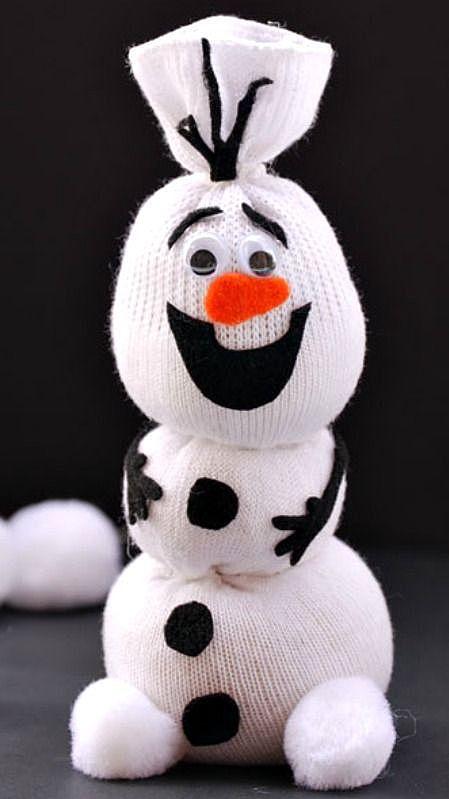 Обаятельный снеговик
