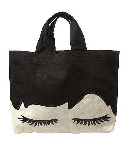 Черно-белая сумка