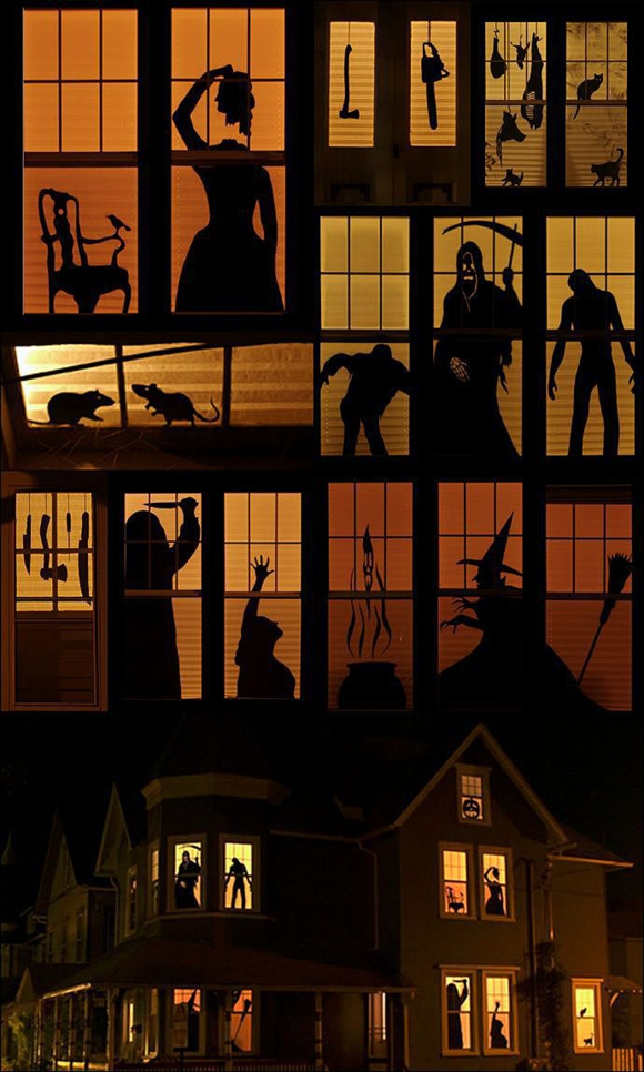 Ужасы в окнах