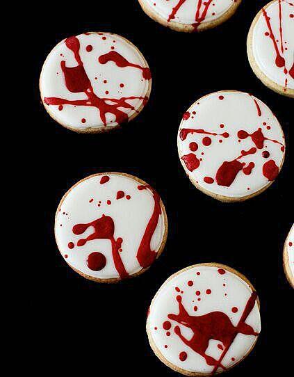 Печенье с брызгами