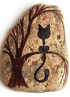 Картинка на камне