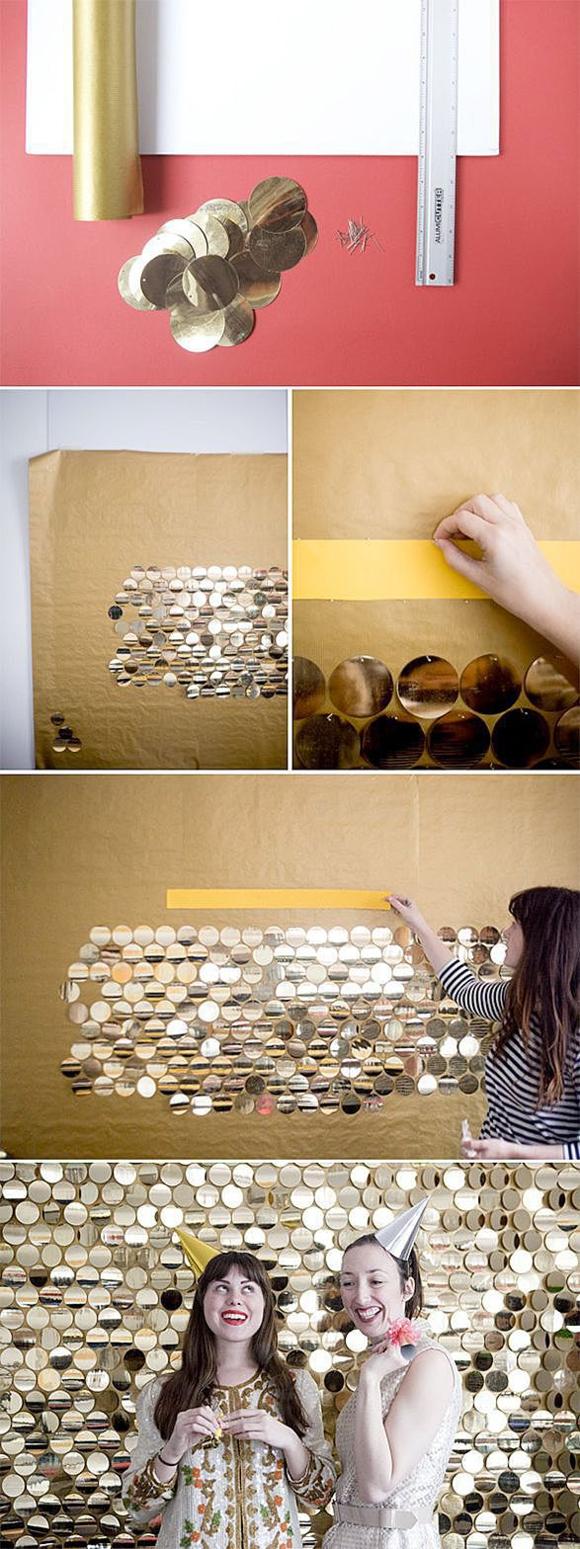 Сияющая стена для вечеринки