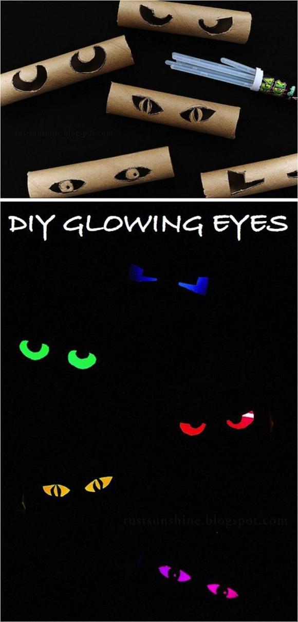 Горящие глаза