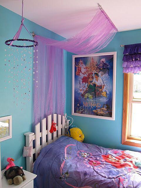 Фатин в декоре спальни