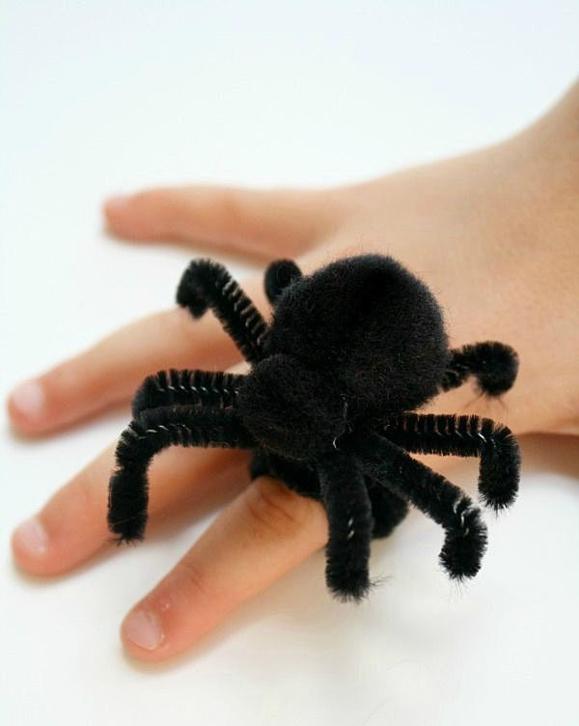 Перстень с пауком