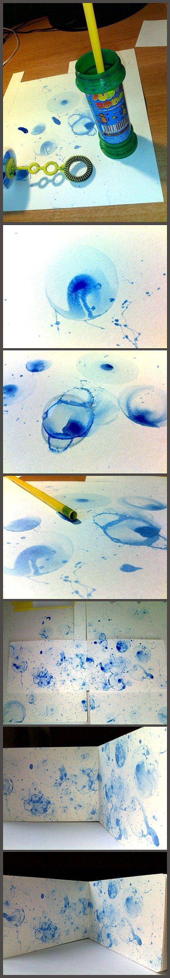 Картина пузырями