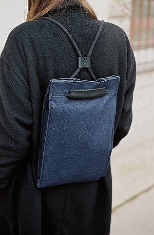 Плоский рюкзак