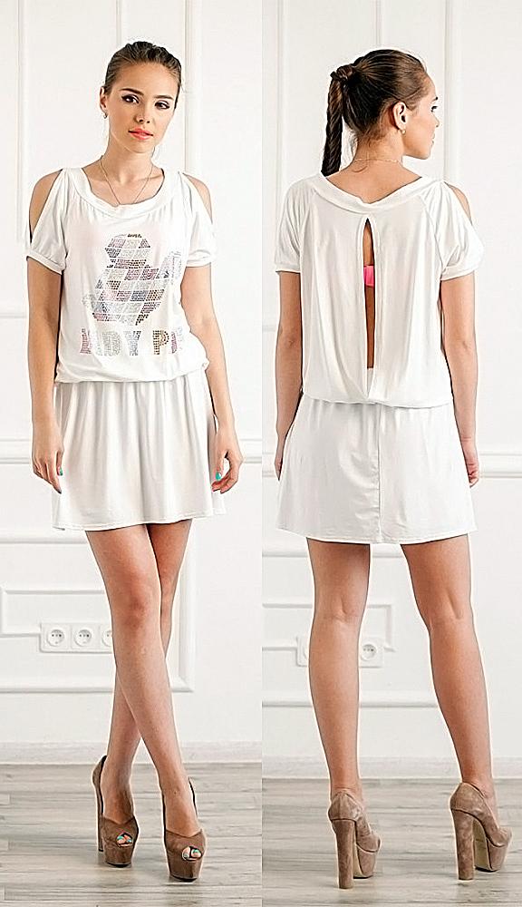 Платья из футболки переделка