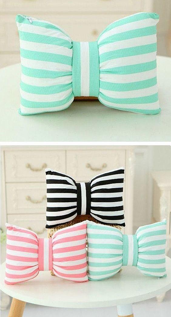 Подушки бантики