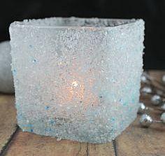 Ледяной подсвечник