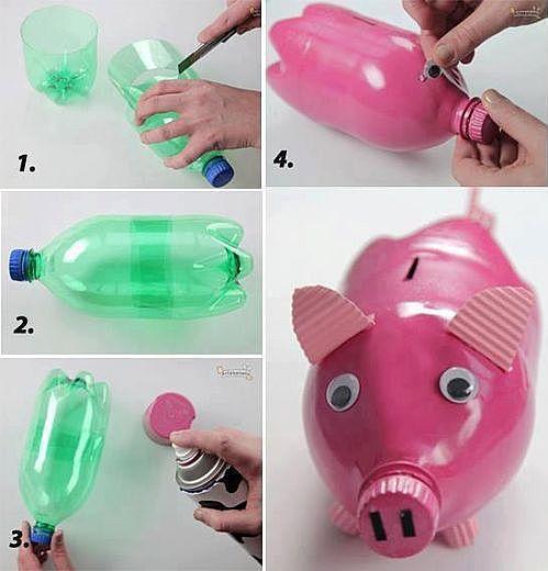 Поделки из пластиковых бутылок новинки
