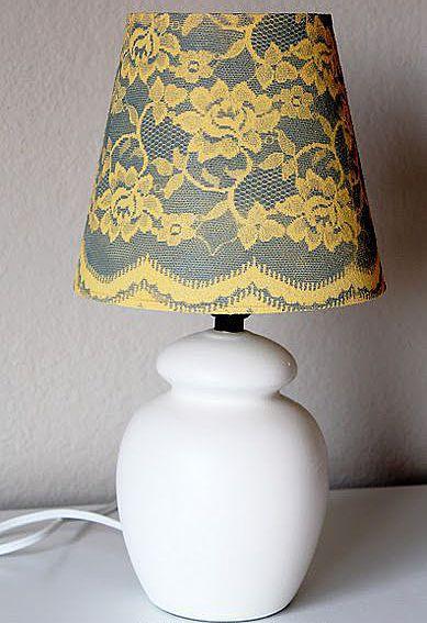Настольная лампа (теплый свет)