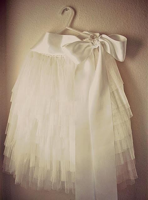 Многослойная юбка из фатина