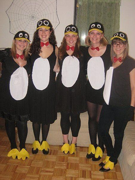 Костюмы пингвинов