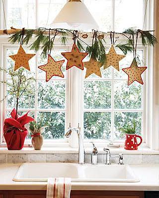 Новогодний декор для окна