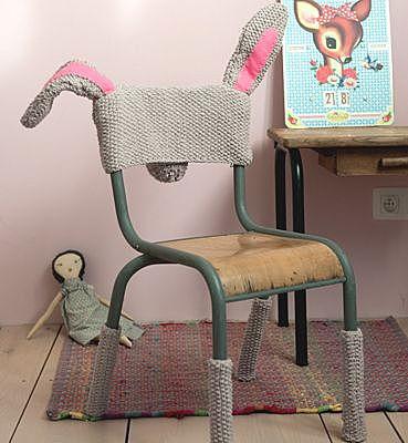 Накидки крючком на стулья своими руками