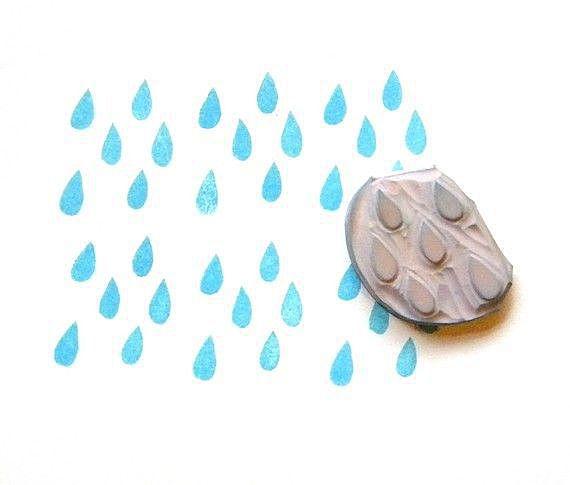 Капли дождика