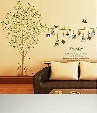 Как разрисовать цветы на стене