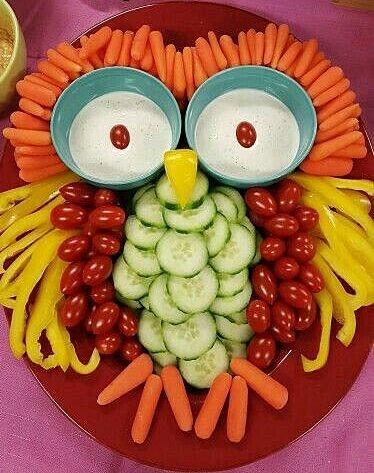 Овощная сова