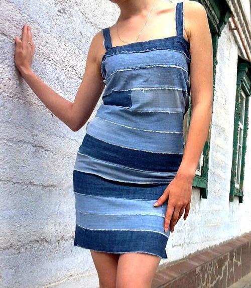 Платье из