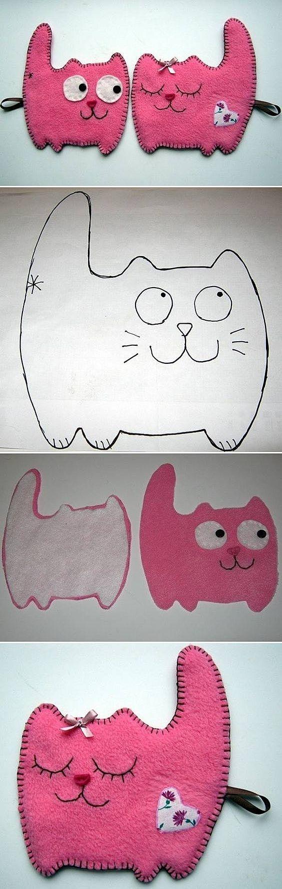 Котики подвески