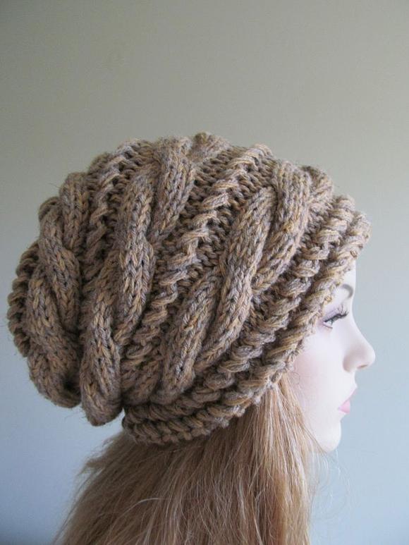 Вязанная шапка для новорожденного своими руками 129