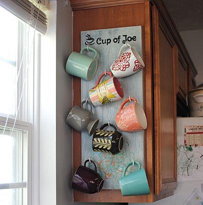 Подвешенные чашки