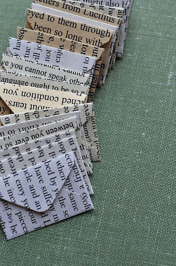 Конверты с крупным текстом