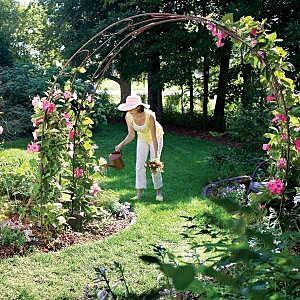 Арка для украшения сада