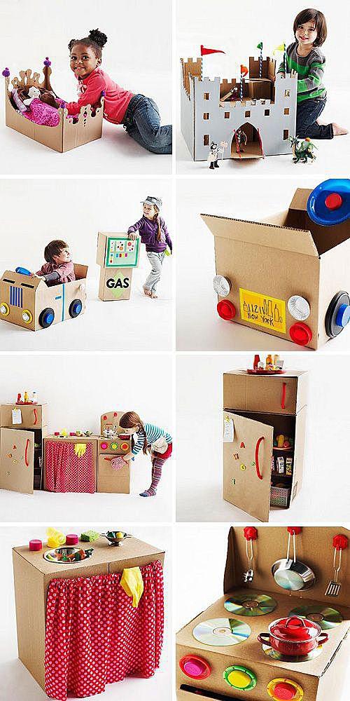 Игры с коробками