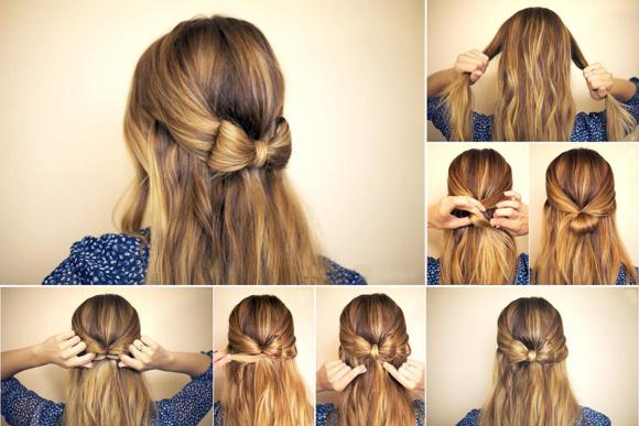 Прическа для волос