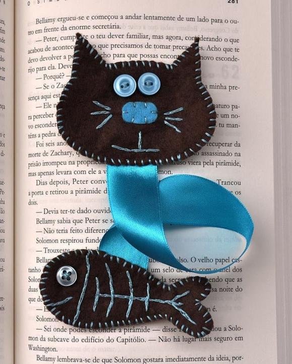 Идеи закладок своими руками для книги