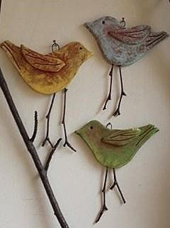 Птички своими руками