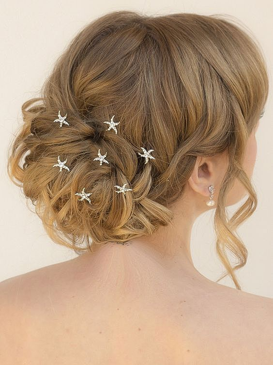 Звездочки на волосах