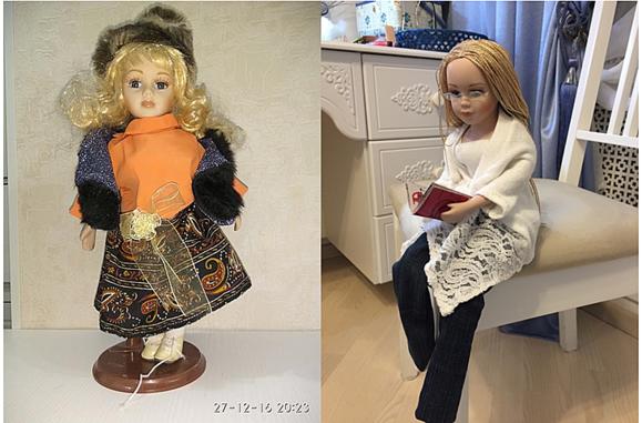 Кукла до и