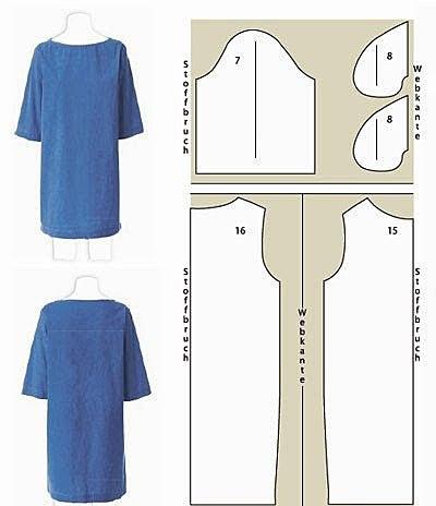 Платье свободного стиля