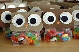 Упаковка сладких сувениров