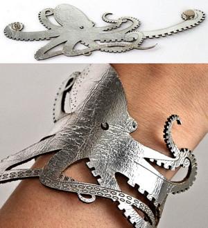 Браслет осьминог
